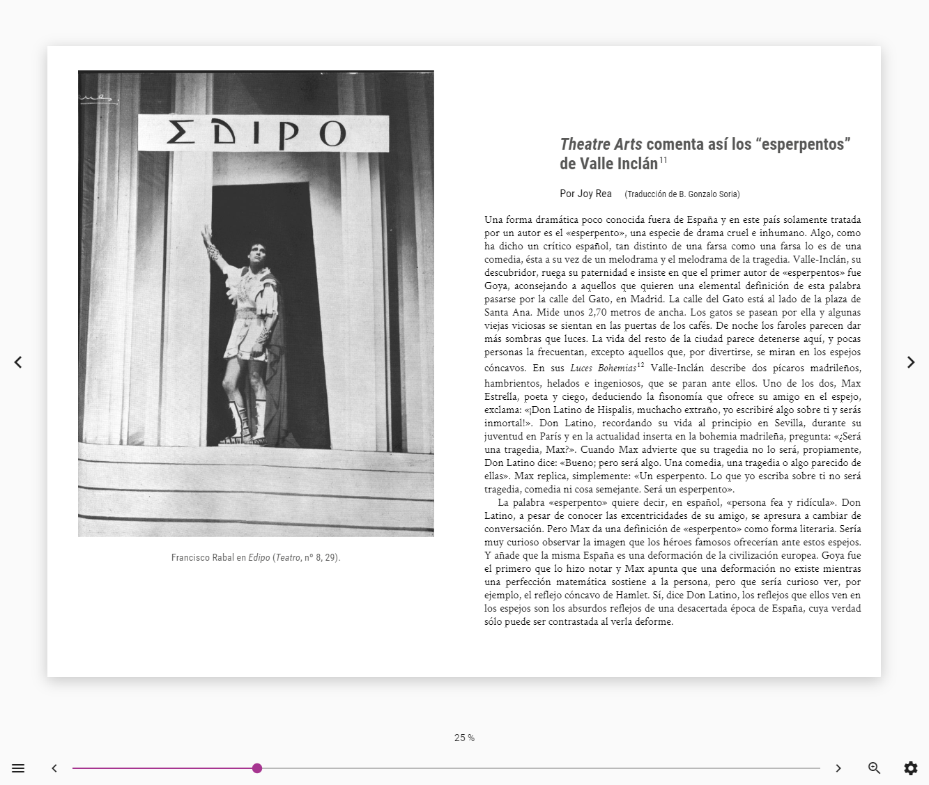 A screenshot of a reflowable EPUB as displayed in the Colibrio reader
